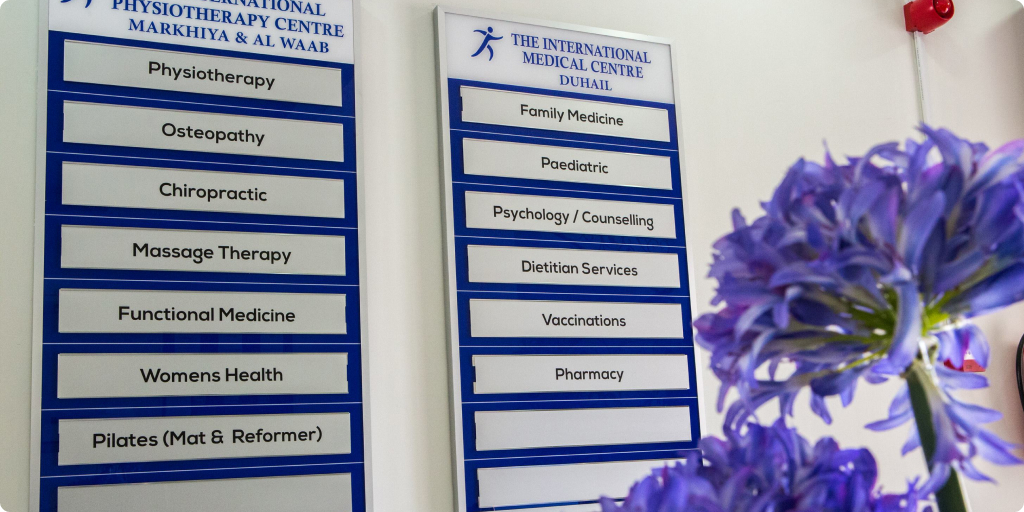 The International Medical Centre Careers Banner Img